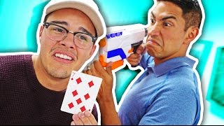 NERF Trouble In Mafia Town! [Ep 2]