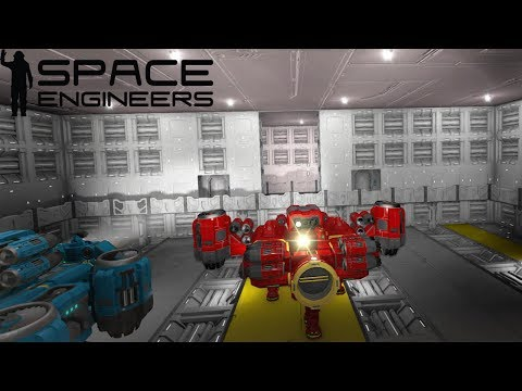 RAFFINERIE, ASSEMBLATORI E ULTIMA STANZA HANGAR #12 - SPACE ENGINEERS GAMEPLAY ITA