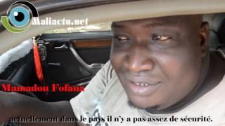 Mali : le problème de sécurité à Bamako : une question relative. [Micro-trottoir]
