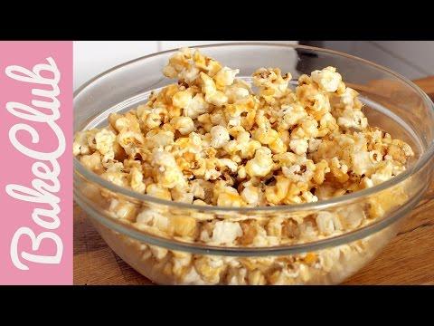 Karamell Popcorn   BakeClub