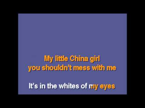 David Bowie - China Girl (Giannis Stamatakis karaoke cover)