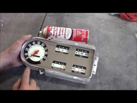 1950 Ford F47 F1 Restoration Update, Cluster & Speedometer Rebuilt,  Lastchanceautorestore Com