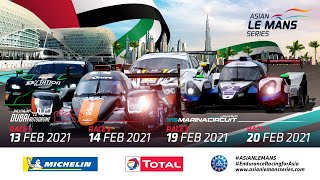 4H of Abu Dhabi - LIVE - Race 4 -2021 Asian Le Mans Series