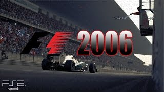 Formula 1 2006 - Primeiro Teste  (Modo Carreira) FullHD #1