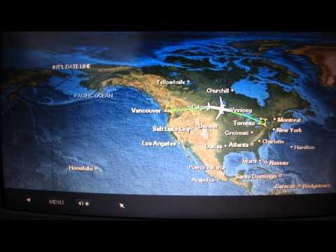 AIR CANADA | VANCOUVER-TORONTO | ECONOMY CLASS