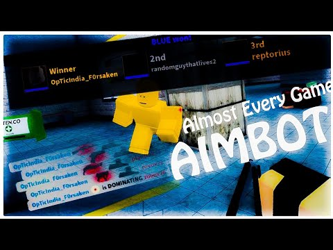 [NOT PATCHED] Working Aimbot Script (ALMOST EVERY GAME) | Roblox Exploiting