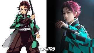 Kimetsu no Yaiba: Characters in real life (Cosplay)