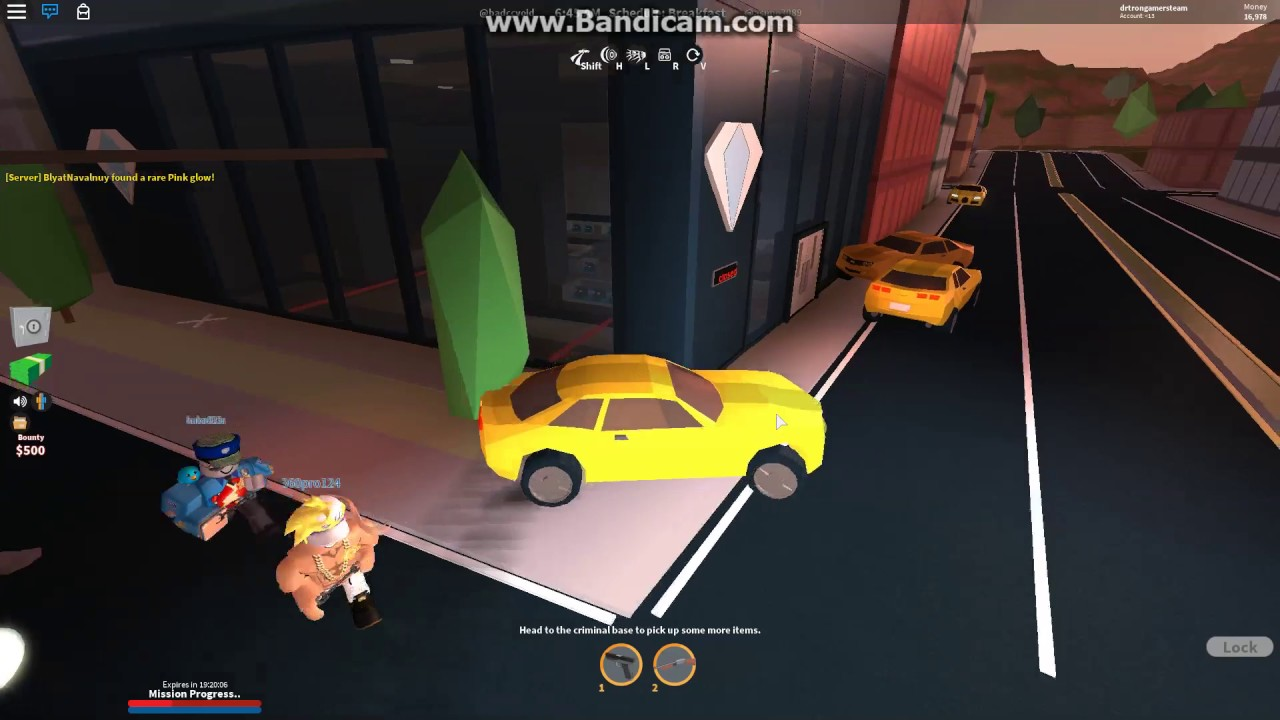 How to rob the jewelry store easy jailbreak youtube for How do you rob the jewelry store in jailbreak