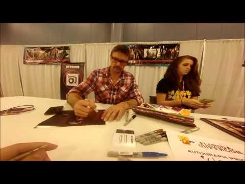 Matt Nable  Ra's al Ghul  Arrow  Autograph Session  VIP Experience