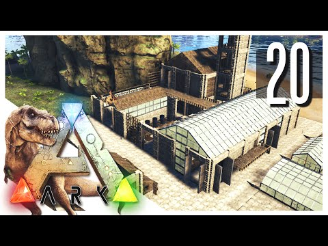 ARK: Survival Evolved - Courtyard & Water Supply! S2E20 (ARK Gameplay)