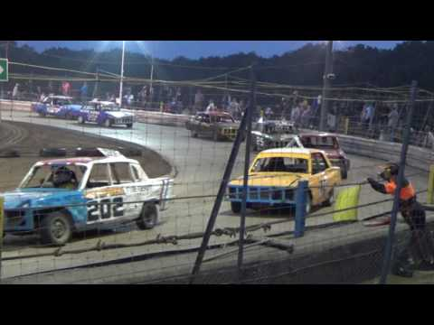 Historic Stock Cars Southern Rumble Arlington 17/08/2016 Heat 2