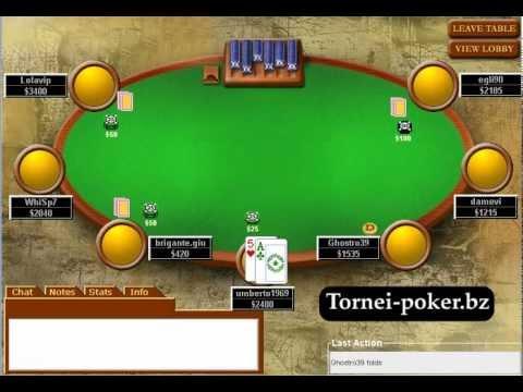 Poker texas hold'em italiano lezioni