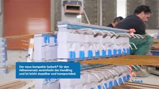 Einbau Schöck Isokorb® für den Höhenversatz