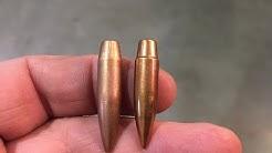 DTAC 115 grain 6mm Rebated Boat Tail Bullets