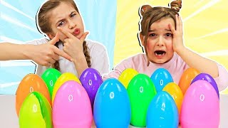 Don't Choose the Wrong Easter Egg Slime Challenge!! | JKrew