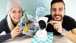 PIPI PARTY - TOILET TROUBLE! DAS ULTIMATIVE KLOSPIEL Deutsch - Kaan & Nina werden nass gespritzt!