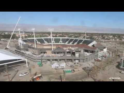 Indian Wells Tennis Garden Time-Lapse