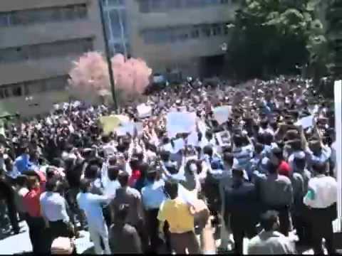Turk Students In Tabriz Azad University against Persian Racism