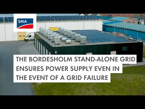 The Bordesholm stand-alone grid ensures power supply even in the event of a grid failure