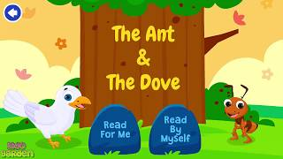 THE ANT AND THE DOVE | English Moral Bedtime Short Stories For Kids 2020 | KidoGarden
