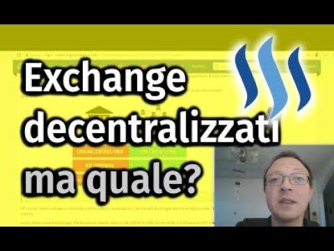Decentralized Exchanges e STOP alle ICO per i cittadini americani USA da Bitfinex