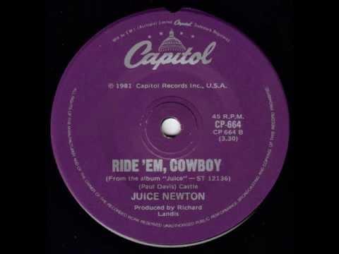 Juice Newton - Ride 'em Cowboy
