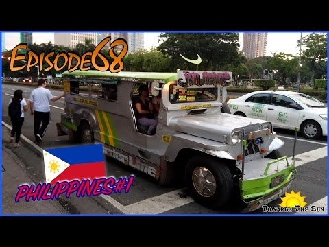 We arrived in Philippines. Manila. Towards The Sun by Hitchhiking 68 (ENG SUBS)