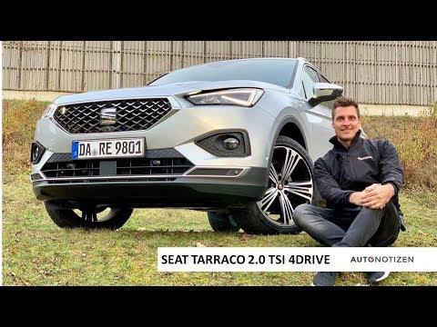 Seat Tarraco 2.0 TSI 4Drive 2019: Review, Test, Fahrbericht