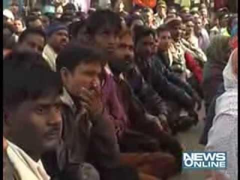Ahmedabad:Municipal corporation worker on stirct