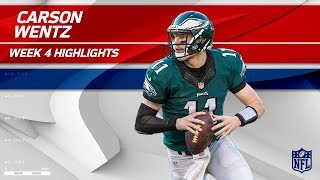 Carson Wentz Leads Philly to Victory! | Eagles vs. Chargers | Wk 4 Player Highlights