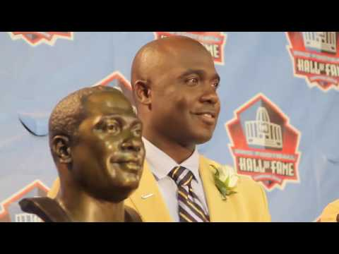 2011 NFL Pro Football Hall Of Fame Induction Ceremony. *Behind The Scenes.
