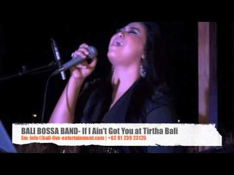 "Bali Bossa Band ""If I Ain't Got You"" at Tirtha Bali, Wedding Band Bali"