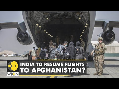Taliban requests India to resume commercial flight operations   WION News   Latest English News