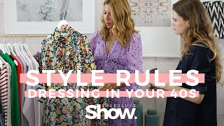 Key Rules For Fashion In Your 40s | Fashion Over 40, The Styling Tips To Know | SheerLuxe Show