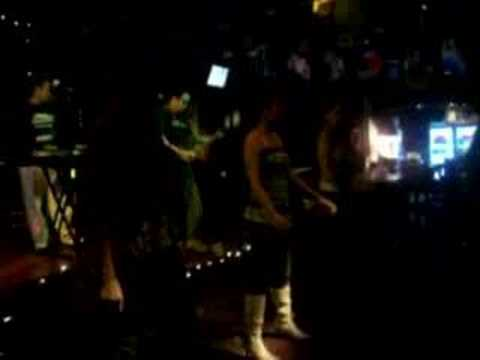 House band at Coyote Ugly in Daejeon