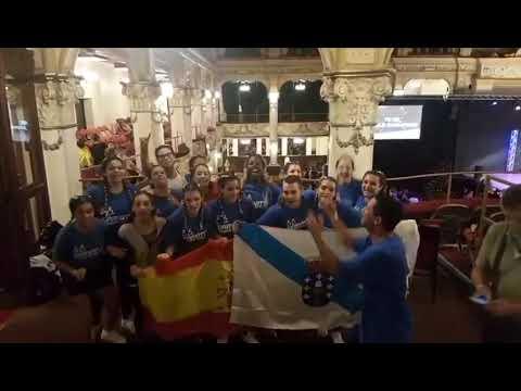 Bailarines de Gravitty de Lugo, a la final del campeonato mundial UDO Street Dance
