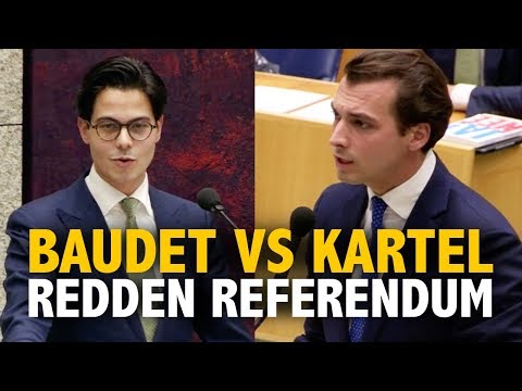 Baudet strijdt tegen D66, VVD en CDA om referendum te redden