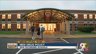 New Richmond Schools institute new drug policy