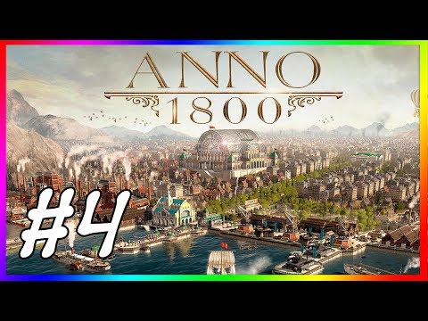 ANNO 1800 COOP #4 XÂY DỰNG ĐẢO QUỐC PHỒN VINH !!!