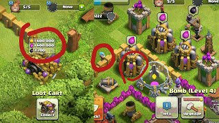 RAREST THINGS THAT HAPPEN IN CLASH OF CLANS | INSANE |