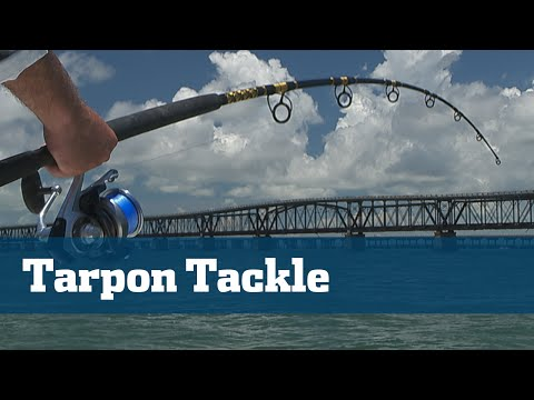 Florida Sport Fishing TV - Rigging Station Tarpon Tackle Bridges Florida Keys Bahia Honda