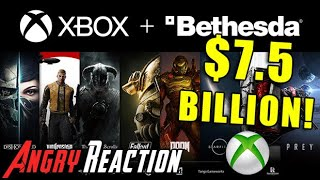 Xbox Buys Bethesda! - Angry Reaction!