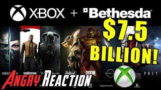 Xbox Buys Bethesda! - Anġry Reaction!