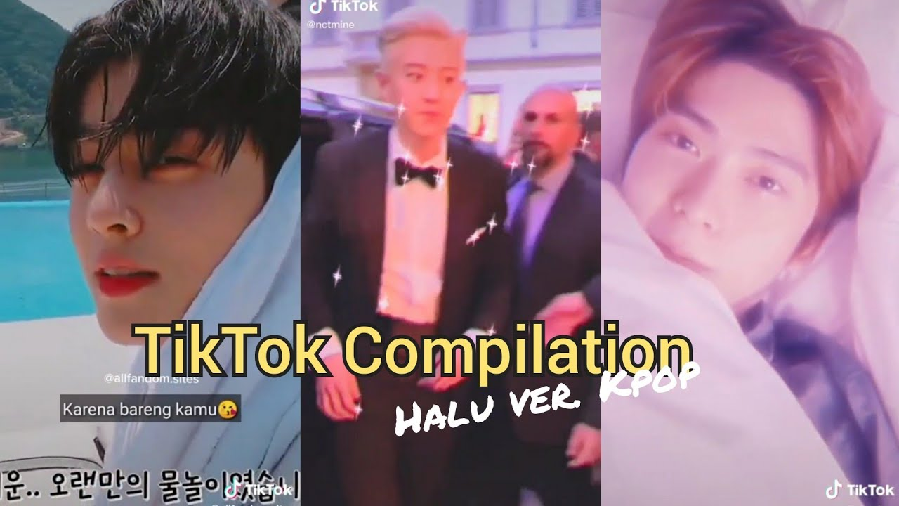 TIKTOK COMPILATION || EXO,BTS,ASTRO,NCT, STRAYKIDS etc. Nikah sama bias, kalo kamu jadi pacar oppa