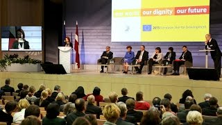 Opening of the European Year for Development 2015: Panel 1
