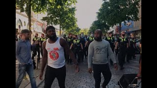 """We want justice for Floyd and justice for our gone brothers in Hamburg"""