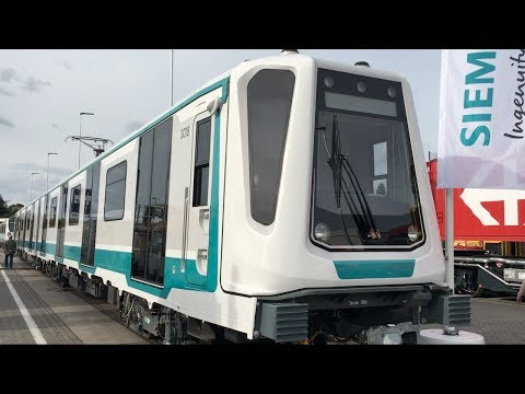 Siemens Inspiro Sofia Three Car Metro Train