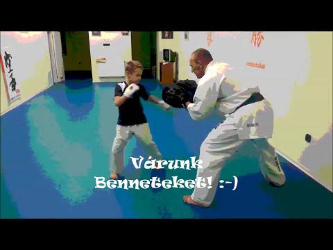 Gyermek karate oktatás-