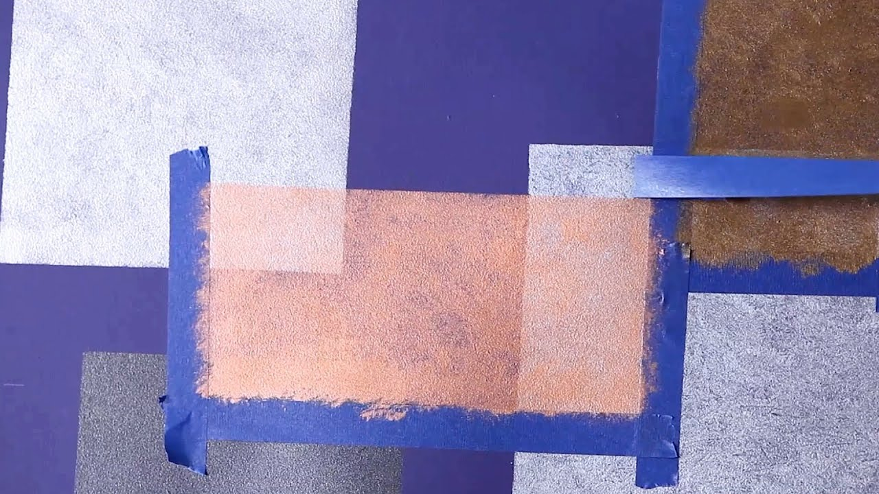 How To Paint Overlapping Squares On Wall | Paint Techniques   YouTube
