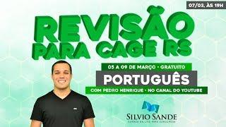 REVISÃO CAGE: Português com Pedro Henrique